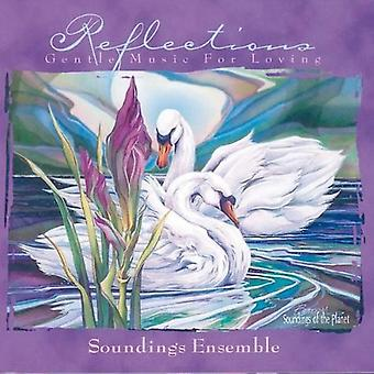 Soundings Ensemble - Reflections-Gentle Music for L [CD] USA import