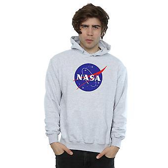 NASA mænds klassiske insignier Logo hættetrøje