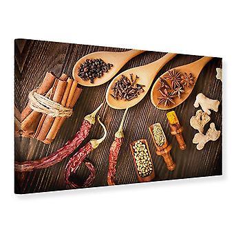 Canvas Print Oosterse specerijen