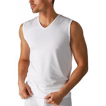 Mey 46037 férfiak ' s fehér száraz pamut V-nyak tank mellény Top
