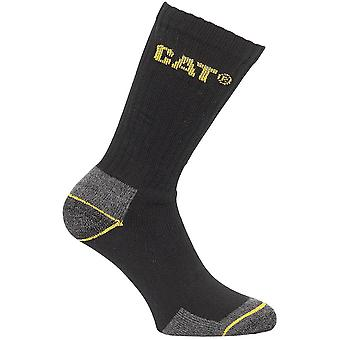 CAT Workwear Mens Workwear Crew 3 Pair Pack Workwear Socks