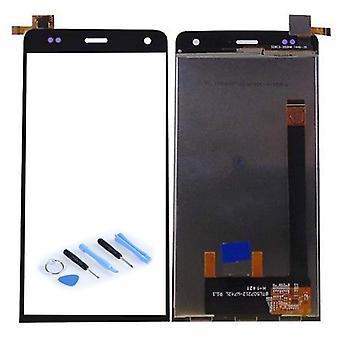 Wyświetlacz LCD kompletna jednostka czarny WIKO Ucieczka