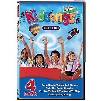 Kidsongs - Let's Go [DVD] USA import