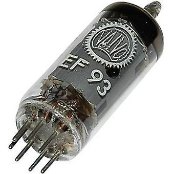 EF 93 = 6 BA 6 vacuüm buis pentode 100 V 10,8 mA aantal pinnen: 7 basis: B7G inhoud 1 PC (s)