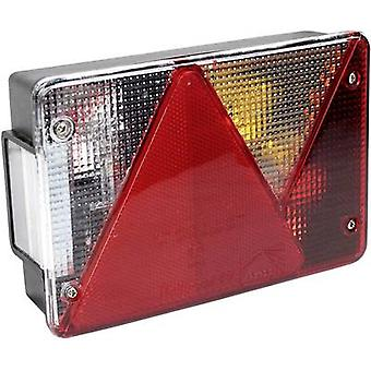 LAS Trailer tail light Multipoint Turn signal, Brake light, Number plate light, Reflector , Reversing lamps, Tail light rear, right 12 V