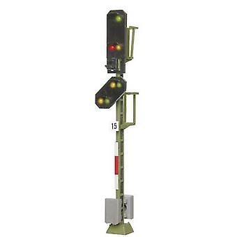 Viessmann 4015 H0 Licht Inkl. Vorschusssignal Esig Lichtsignal Montiert DB