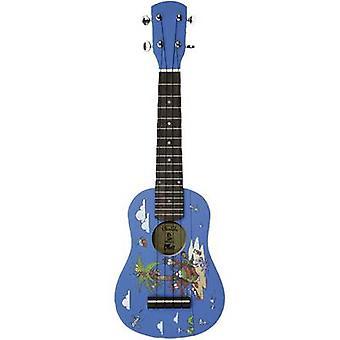 Voggenreiter 824 ukulele blå