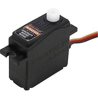Spektrum Mini servo A4010 Digital servo Gear box material Plastic Connector system JR