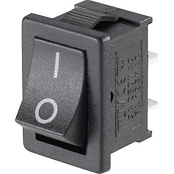 Vippekontakt Mini-Wippenschalter fru-101-C3 1xEin 1 computer(e)
