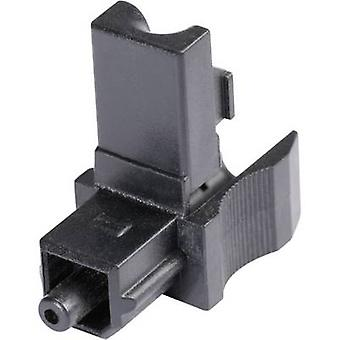 Hicon POF-TOS TOSLINK connector Plug, straight Number of pins: 1 Black 1 pc(s)