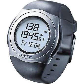 Beurer PM 25 Heart rate monitor watch with chest strap Black-grey