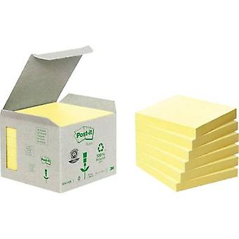 Post-it Sticky note 7000081071 76 mm x 76 mm Yellow 600 sheet
