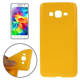 Skyddande fall TPU fodral för mobil Samsung Galaxy Grand Prime SM-G530H Orange