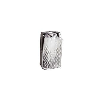 Ansell 100W E27 Polycarbonate Bulkhead Light IP66