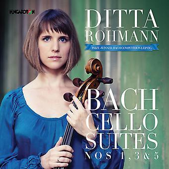 J.S. Bach - Cello Suites 1 3 & 5 [CD] USA import