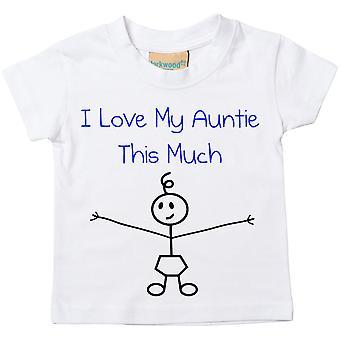 私のおばさんはこれくらいの t シャツが大好きの男の子