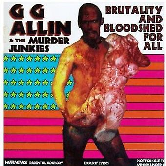 Gg Allin - Brutality & Bloodshed [CD] USA import