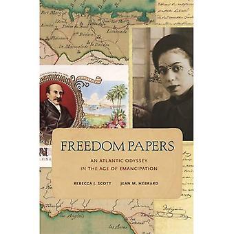 Papéis de liberdade: Uma Odisseia Atlântica na idade da emancipação