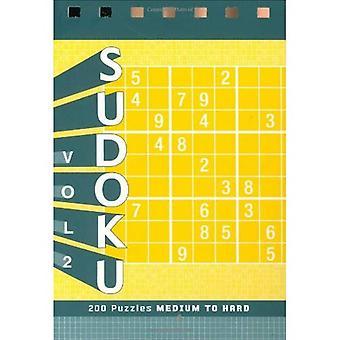 Sudoku 2 pussel Pad: Svår nivå