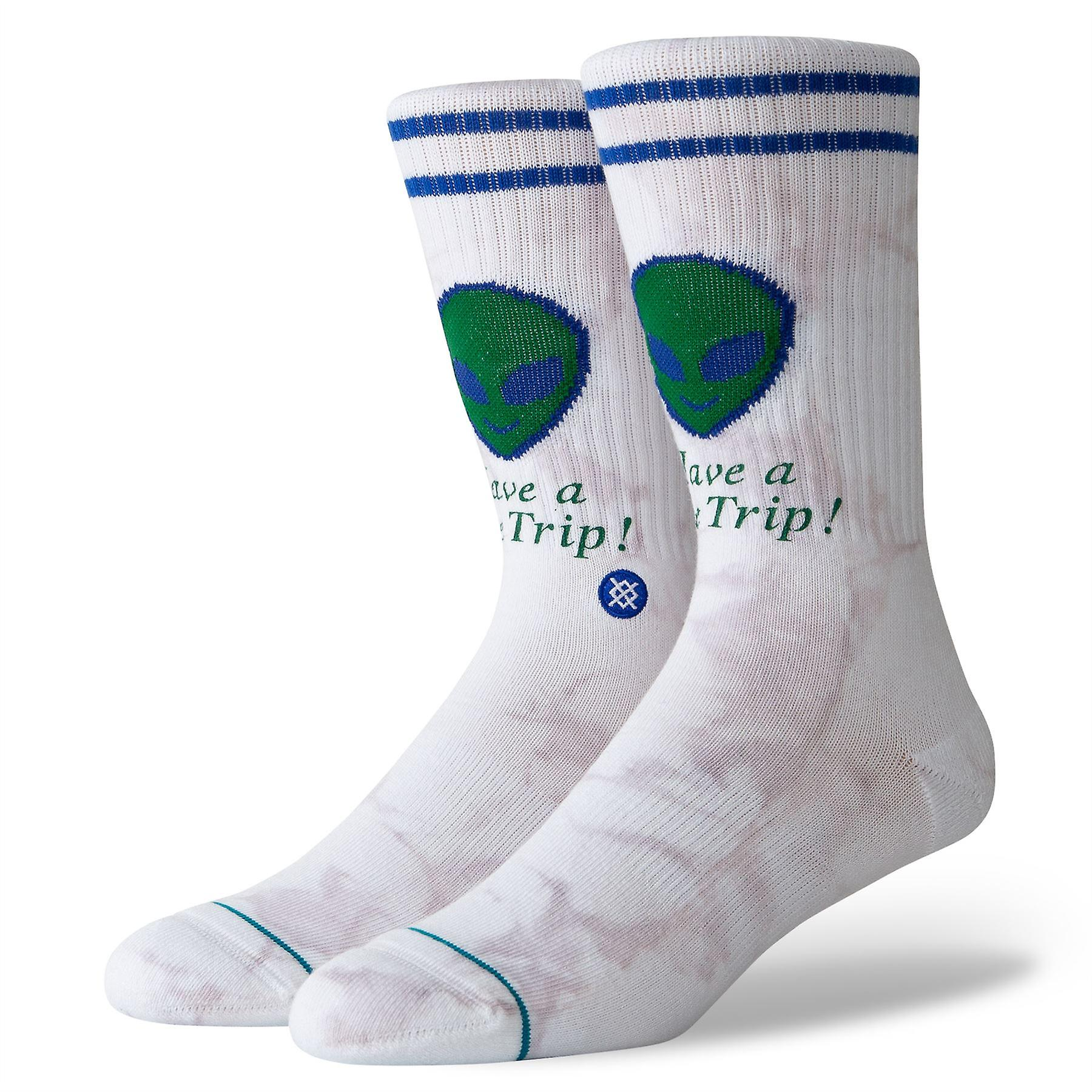 Stance Lifestyle Mens Socks ~ Space Trip (size L)