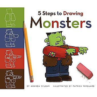 5 Steps to Drawing Monsters (5 Steps to Drawing)