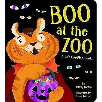 Boo på Zoo: en hiss-the-Flap bok [styrelse bok]