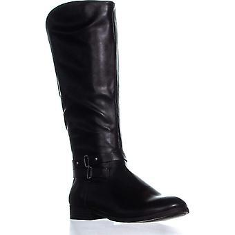 Stijl & Co. Womens ronde teen knie hoge rijlaarzen