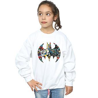 DC Comics meisjes Batman Comic Book Logo Sweatshirt