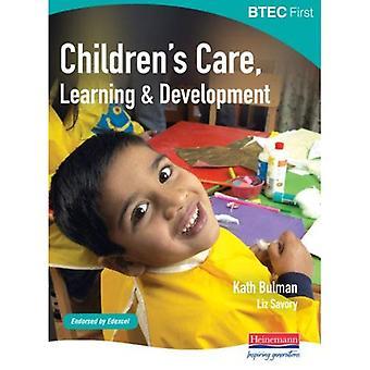 BTEC premier: Apprentissage de soins pour enfants & développement