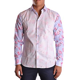 Givenchy Ezbc010005 Men's Pink Cotton Shirt