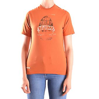 Belstaff Ezbc102012 Women's Orange Cotton T-shirt