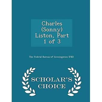Charles Sonny Liston Teil 1 von 3 Gelehrte Wahl Ausgabe durch das Federal Bureau of Investigation FBI