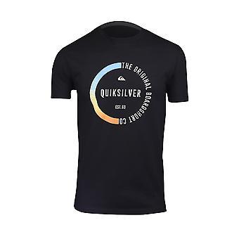 Quiksilver vengeance Mens T-Shirt-Black