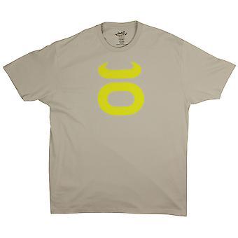 Jaco Mens Tenacity II T-Shirt -Silver/Sugafly Yellow