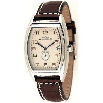 Zeno-watch mens watch tonneau retro automatic retro 6 8081-6-f2