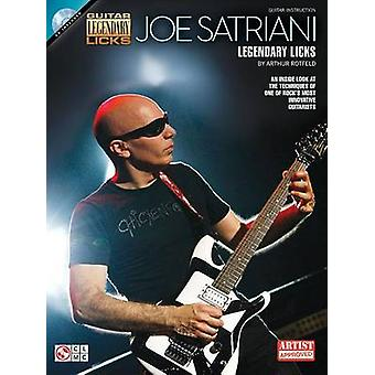 Joe Satriani - Legendary Licks by Arthur Rotfeld - 9781476868684 Book