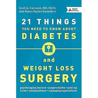 21 Things You Need To Know About Diabetes and Weight-Loss Surgery by