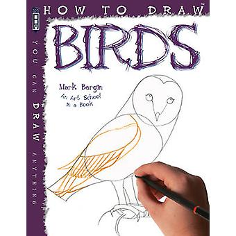 How to Draw Birds by Bergin Mark - Bergin Mark - 9781909645530 Book