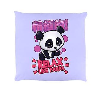 Handa Panda Relax Like Panda Cushion