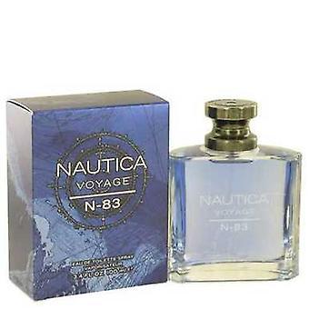 Nautica Voyage N-83 door Nautica Eau de Toilette Spray 3,4 oz (mannen) V728-502339