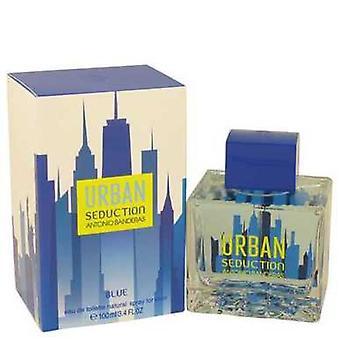 Urban Seduction Blue By Antonio Banderas Eau De Toilette Spray 3.4 Oz (men) V728-537088