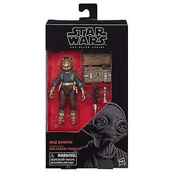 Star Wars sort-serien figur-MAZ Kanata