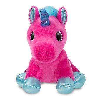 Aurora Sparkle Tales Starlight hot Pink Unicorn 7 tum plysch mjuk leksak