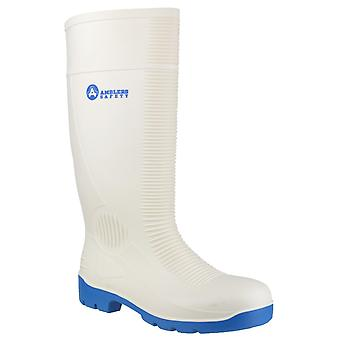 Amblers Safety Unisex FS98 Steel Toe Food Safety Wellington White