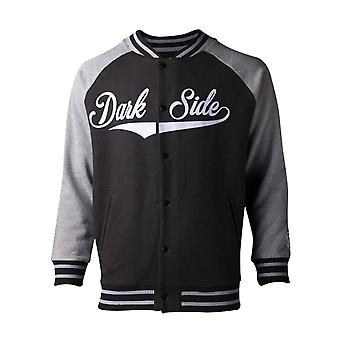 Star Wars Baseball jacka Dark Side Logo nya officiella Mens Varsity