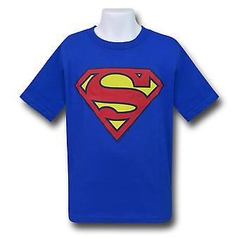 Superman Kinder Royal Blue Symbol T-Shirt