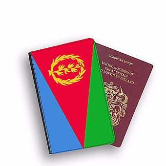 ERITREA Flag Passport Holder Style Case Cover Protective Wallet Flags design