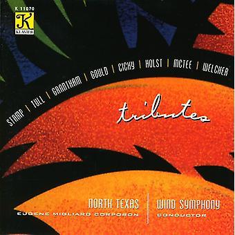 North Texas Wind Symphony - Tributes [CD] USA import