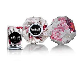 Bujor floral print re-utilizabile Ice bag/Chill Pack