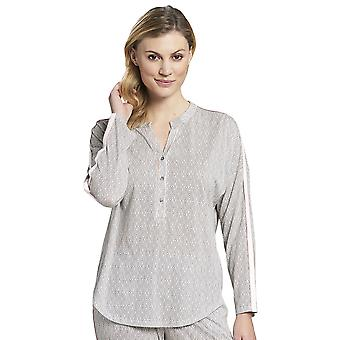 Rosch 1193702-16416 Donne's Pure Off-White Oriental Flair Cotton Pyjama Top